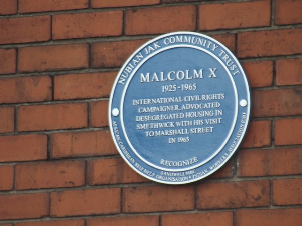 Recognize , Blue plaque