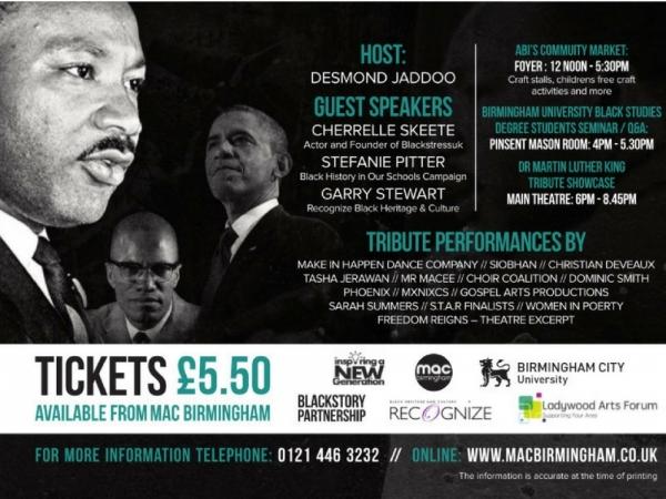 Dr King Jr, Birmingham, BCU
