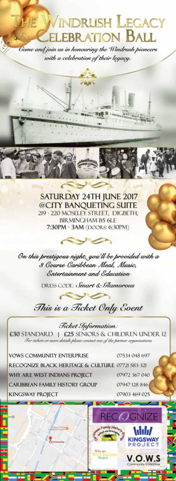 The Windrush Legacy & Celebration Ball